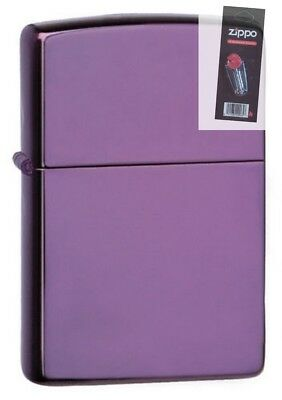 $17.69 • Buy Zippo 24747 Purple Abyss Full Size Lighter + FLINT PACK