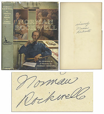 $ CDN491.62 • Buy Norman Rockwell Signed Autobiography Illustrator