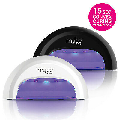View Details Mylee PRO Convex Nail Dryer LED Lamp FAST Gel Manicure Curing W Timer - NEW 2017 • 34.99£