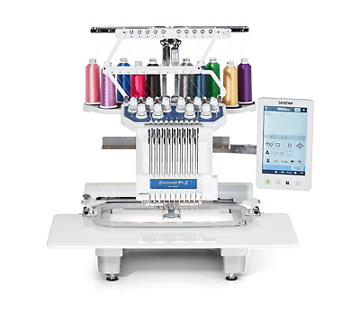 Brother PR1055X 10 Multi Needle Embroidery Machine, 0% Finance Available  • 8,999£