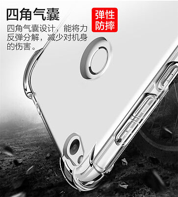 360° Silicone Full Front Back Shockproof Thin Clear Phone Case Cover For Huawei • 1.59£