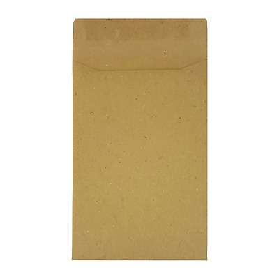 £18.93 • Buy Small Brown Envelopes  Dinner Money Wages Coins Beads And Seeds FREE UK DELIVERY