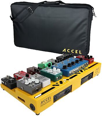 $ CDN320.44 • Buy Accel XTA25 Pro Tier Guitar Effects Pedal Board With Tote Case