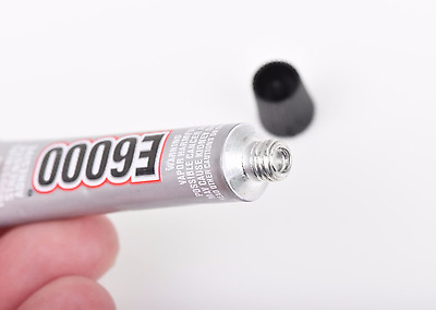 2 Tubes E6000 Glue Adhesive For Jewelry Making, Crafts, 5.3mL Per Tube, Adh0031 • 2.85£