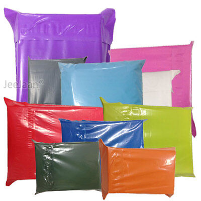 £1.92 • Buy Coloured Poly Plastic Mailing Postal Packaging Bags Strong Self Seal Strip Cheap