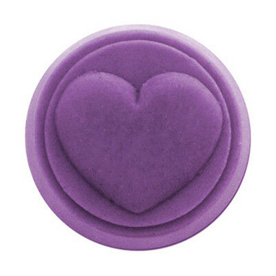 $8.10 • Buy Small Round Heart Soap Mold. Melt & Pour, Cold Process W/Instructions