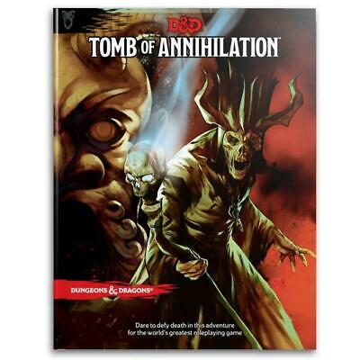AU51.85 • Buy D&D Dungeons & Dragons Tomb Of Annihilation Book Board Game