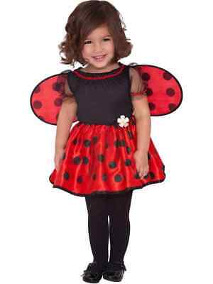 Baby Little Ladybug Costume Ladybird New Fancy Dress Girls Toddler Insect Outfit • 11.99£