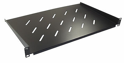 £18 • Buy 1u 300mm Deep Vented Shelf For 19  Rack Cabinet Front Mounting Type