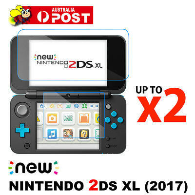 AU4.95 • Buy Top& Bottom Tempered Glass Screen Protector Film For Nintendo New 2DS LL/XL 2017