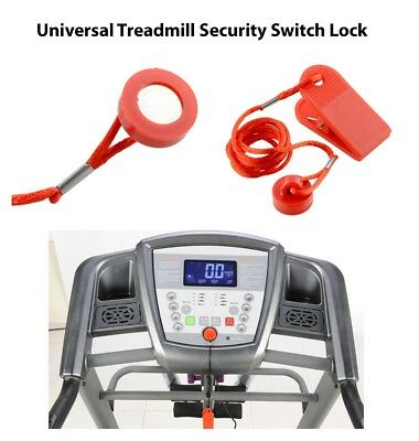 AU12.49 • Buy Treadmill Running Machine Safety Safe Key Magnetic Security Switch Lock New