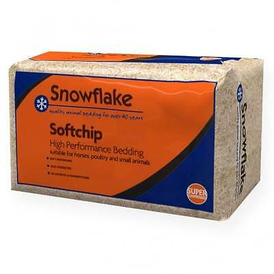 £15.49 • Buy Snowflake Softchip High Performance Horse Bedding Shavings Wood Chip Approx 20kg