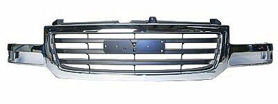 $249.99 • Buy Front Grille Chrome/Black GMC Sierra Wo/Heavy Duty 2003 2004 2005 2006 GM1200475