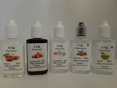 Concentrated Liquid Food Flavouring/Essences For Cakes,Baking,Cooking 30ml • 2.99£