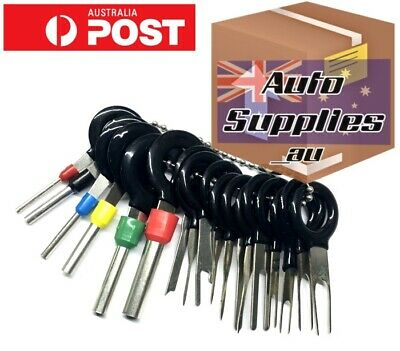 AU17.50 • Buy Automotive Connector Plug Pin Crimp Removal Terminal Tool Wiring Depin Tang Tab