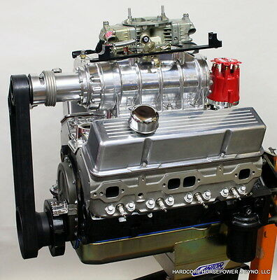 383ci Small Block Chevy Blown Pro-Street Engine 625hp+ E85 Built-To-Order Dyno'd • 12,159.99$