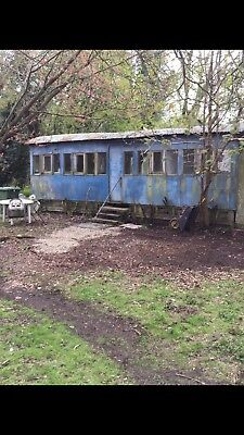 Vintage Railway Carriage VERY RARE WOULD MAKE A GREAT PROJECT  • 19,400£