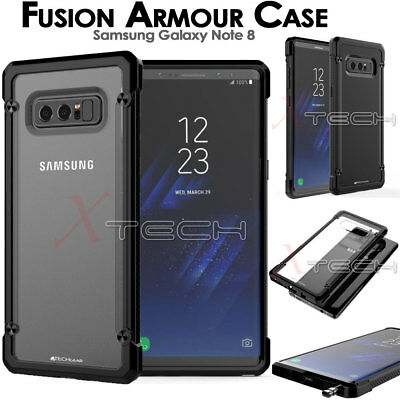Samsung Galaxy Note 8 [Fusion Armour] Premium Slim Tough Shockproof Case Cover • 3.95£
