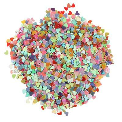 £3.35 • Buy Colorful Heart Shape Table Sprinkles Wedding Throwing Confetti Party Decor