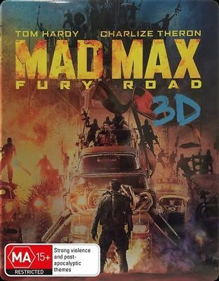 AU16.99 • Buy Mad Max - Fury Road (3D Blu-ray, 2015) New, ExRetail Stock (D135)