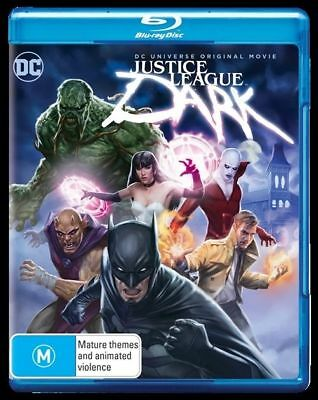 AU20.99 • Buy Justice League - Dark (Blu-ray, 2017) New, ExRetail Stock (D138)