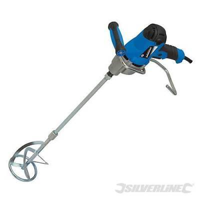 £59.99 • Buy Heavy Duty Silverline 850w Cement Plaster Mortar Paint Mixer Mixing Paddle 240v