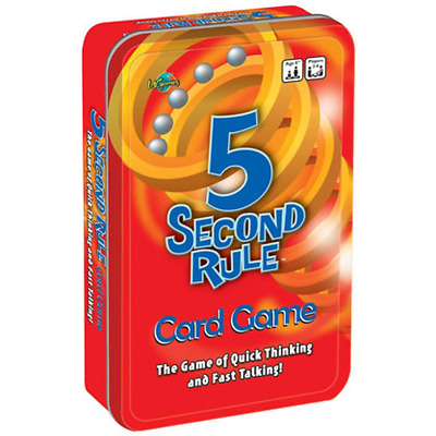 AU20.05 • Buy 5 Second Rule Tinned Game Board Game