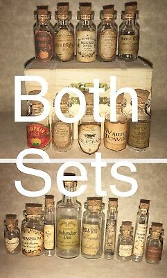 $7 • Buy LABELS ONLY Halloween Small Apothecary Potion Bottles Harry Potter Party Prop