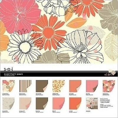$26.55 • Buy S.e.i CLAIRE Assortment Collection Paper Pack 12 X 12  CLEARANCE PRICE
