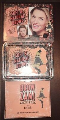 £17.37 • Buy Benefit Soft & Natural Brow Kit HIGH BROW GOOF PROOF BROW SETTER NEW BOXED #2