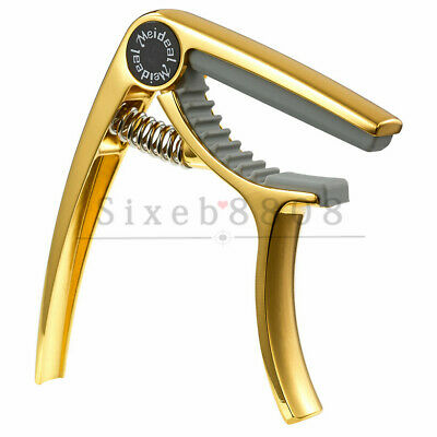 AU9.19 • Buy Golden Quick Change Guitar Capo For Ukulele
