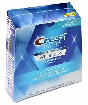 AU55.95 • Buy Crest 3D 8 X 1 Hour Express Teeth Whitening Strips White (4 Pouches) Sealed Box