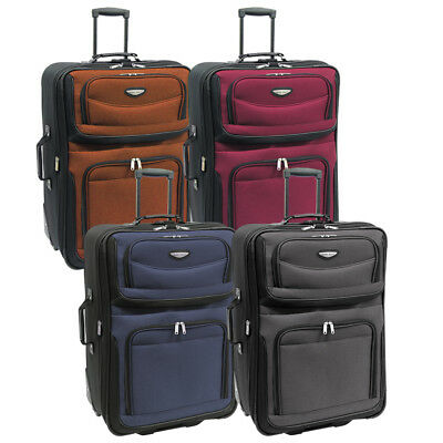 "View Details Amsterdam 29"" Large Lightweight Expandable Rolling Luggage Suitcase Travel Bag • 69.99$"