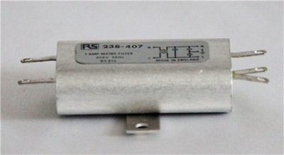 £15 • Buy RS Chassis Mounted Mains Filter 250V 1A