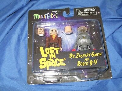 AU18.85 • Buy LOST IN SPACE Robot B-9 & Dr Zachary Smith MINIMATES Figure Set By Diamond