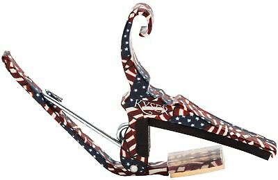$ CDN26.60 • Buy Kyser KG6FA Stars & Stripes American Freedom Green Quick Change Guitar Capo