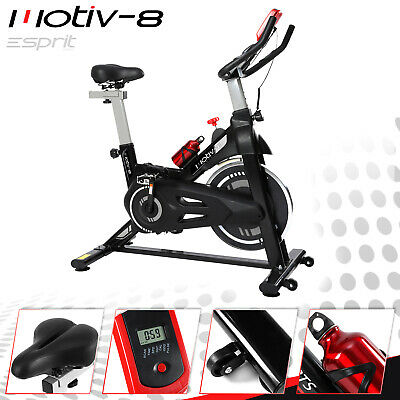 MOTIV-8 Spin Home Gym Exercise Fitness Bike Fitness Cardio Workout Machine • 159£