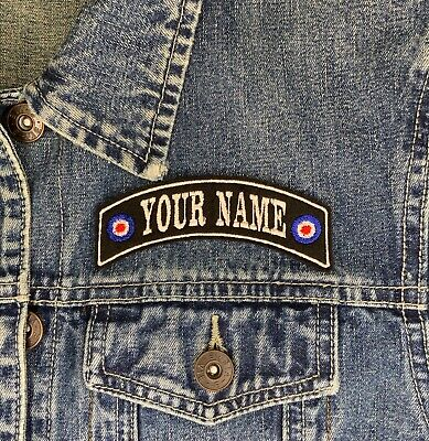 Your Name Mod Target Small Personalised Rocker Patch Scooter Buy 5 Pay For 4!! • 3.45£