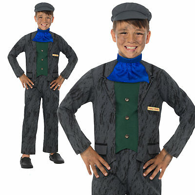 £15.34 • Buy Horrible Histories Miner Costume Victorian Boys Book Day Week Fancy Dress Outfit