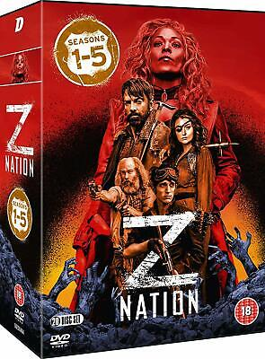 AU64.95 • Buy Z NATION 1-5 (2014-2018) COMPLETE Zombie Apoc. TV Season Series - Rg2 DVD Not US