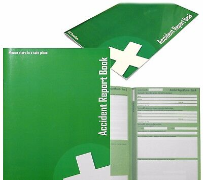 £4.99 • Buy Accident Report Book Hse Compliant First Aid School/office Injury Health Record