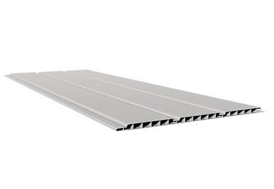 8 Sheets Of 5 Metre 9mm UPVC Plastic Hollow Soffit Board White Hollow Cladding • 68£