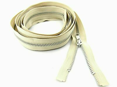 Extra Long Metal YKK Open Ended Separating Zip For Sleeping Bags, Camping Tents • 4.59£