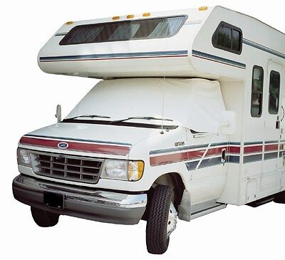 $54.99 • Buy ADCO 2408 RV Windshield Cover White Snooze Bonnet For Class C Chevy 1997-2000