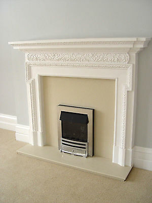 £554.40 • Buy  Large Fire Surround Ideal Log Burner Or With Cast Iron Insert Open Fire