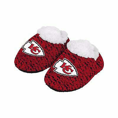 866b340c50607b Football Infant Newborn Poly Knit Baby Booties Slippers NEW - Pick Team &  Size • 9.85