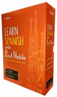 £27.24 • Buy Learn Spanish With Paul Noble Collins 12 CDs, Booklet, DVD Collection Box Set 5