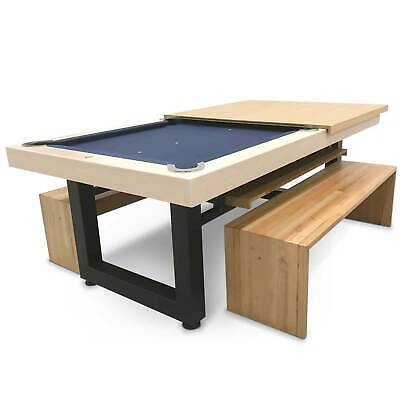 AU7863 • Buy 7 Foot Slate Odyssey All-In-One Pool Dining Table