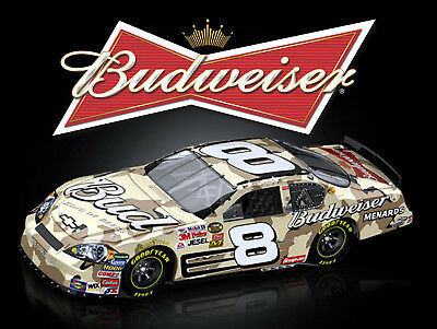 Budweiser Car, Retro Metal Plaque/Sign Pub, Bar, Man Cave Novelty Gift • 3.84£