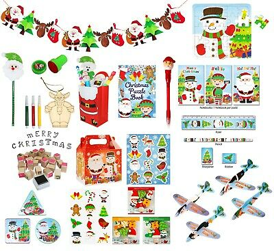 £2.99 • Buy Kids Christmas Xmas Novelty Stocking Party Bag Fillers Toys Games Books Puzzles